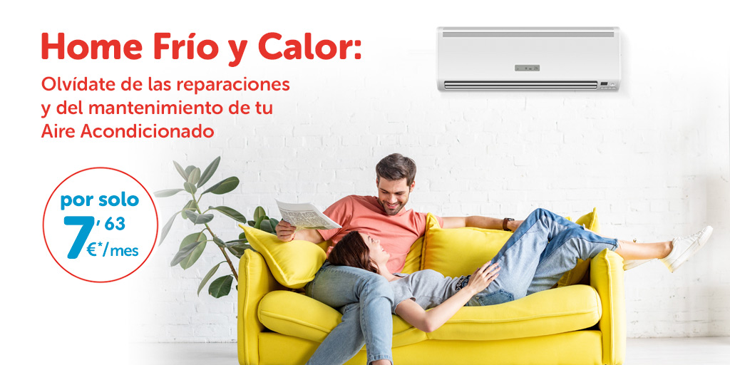 Cabecera Tablet Home Frío y Calor|Homeserve