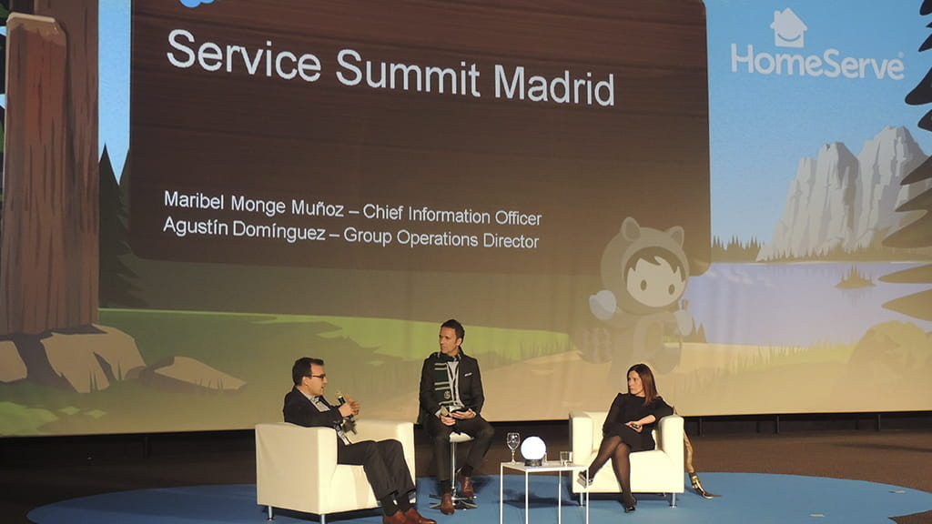 Homeserve participa en el Service Cloud Summit de Salesforce |Homeserve
