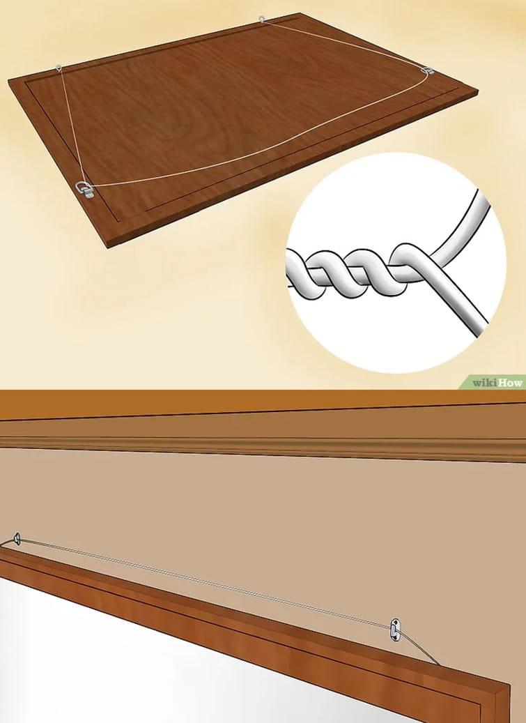 Cómo colgar un espejo pesado en cualquier pared